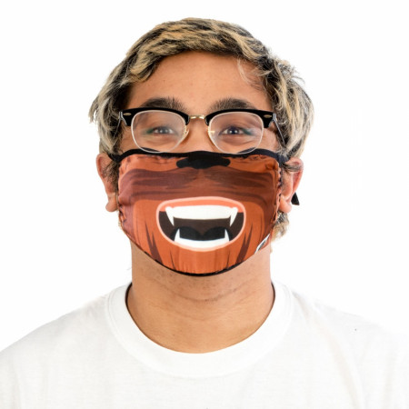 Star Wars Chewbacca Adjustable Face Cover