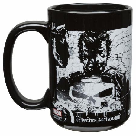 The Punisher Marvel Character and Symbol Ceramic Mug