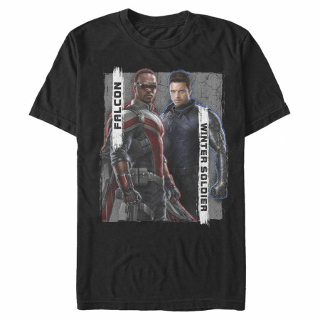 The Falcon and The Winter Solider Heroes T-Shirt