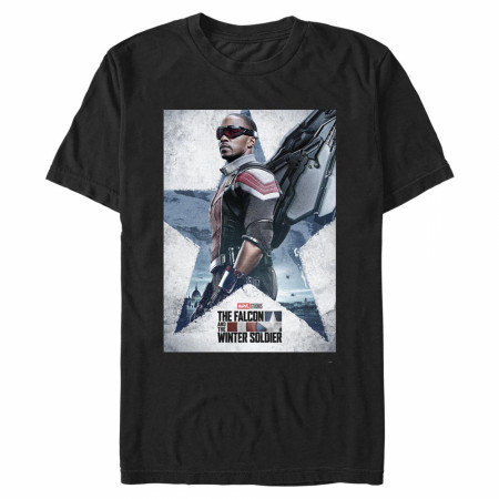 The Falcon and The Winter Soldier Falcon Poster T-Shirt