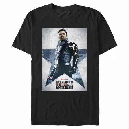 The Falcon and The Winter Soldier Poster T-Shirt
