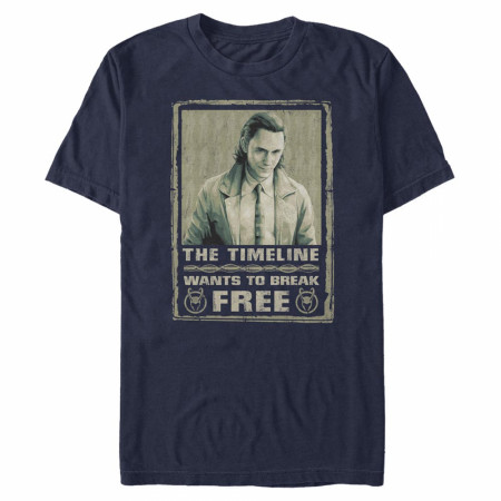 Loki The Timeline Wants To Break Free T-Shirt