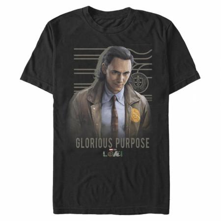 Loki Glorious Purpose Poster T-Shirt