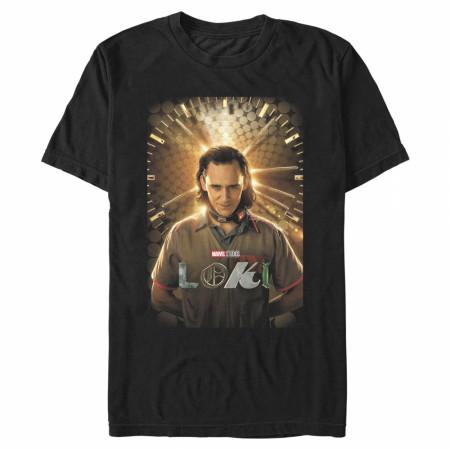 Loki Marvel Studios Poster T-Shirt
