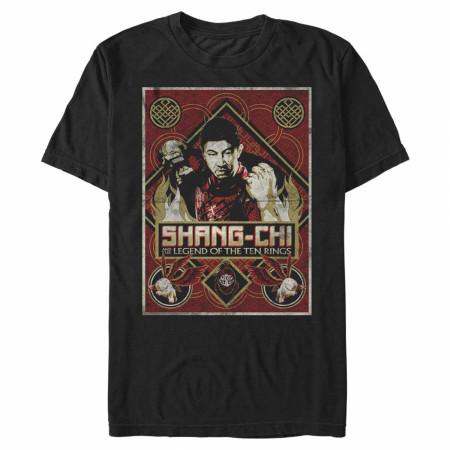 Shang Chi and the Legend of the Ten Rings Defiance Pose T-Shirt