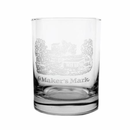 Maker's Mark Whiskey Distillery Image Glass