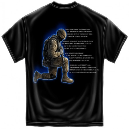 United States Army Prayer Patriotic Tee Shirt