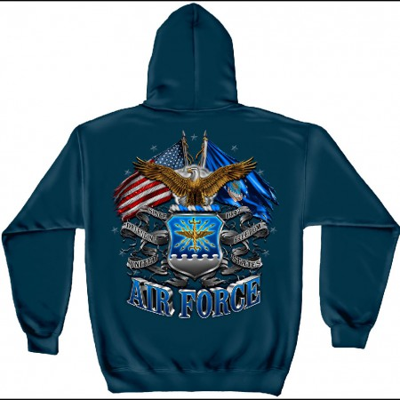 Air Force Double Eagle Blue Hoodie
