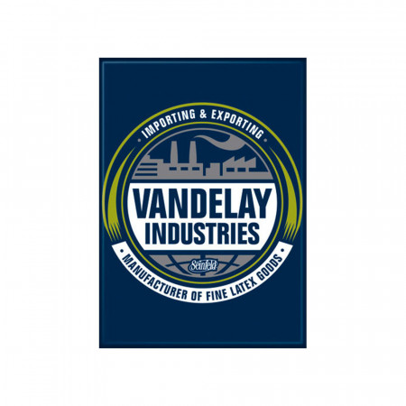 Seinfeld Blue Vandelay Industries Magnet