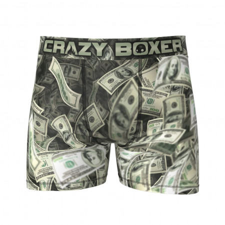 Crazy Boxer Cash Money Print Boxer Briefs