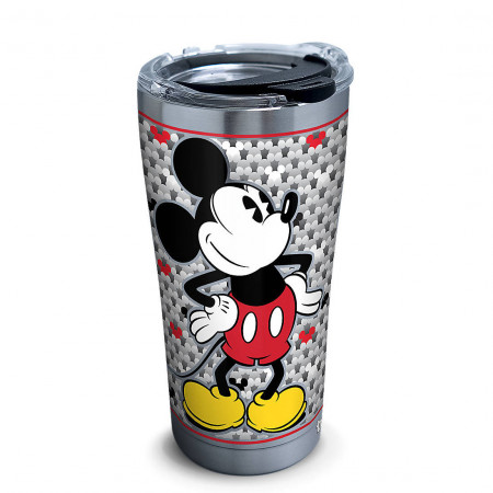 Mickey Mouse 20 Oz Stainless Steel Silver Mug