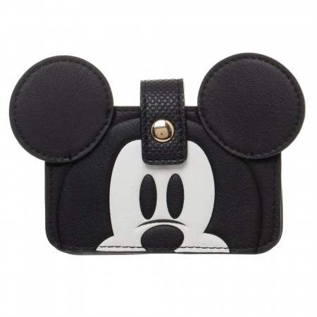 Mickey Mouse Snap Closure Card Wallet