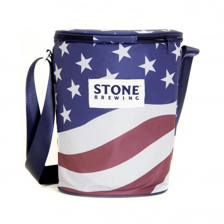Stone Brewing American Flag Cooler