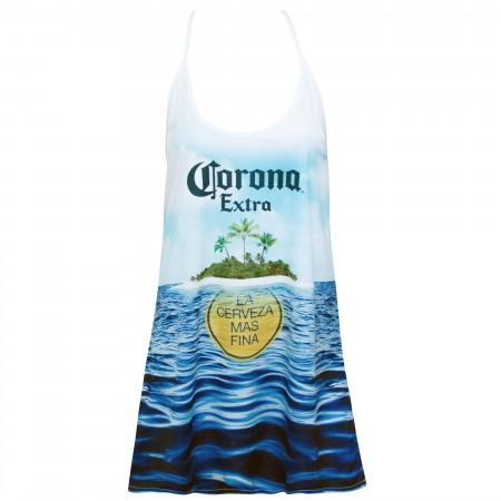 Corona Extra White Island Women's Tank Top