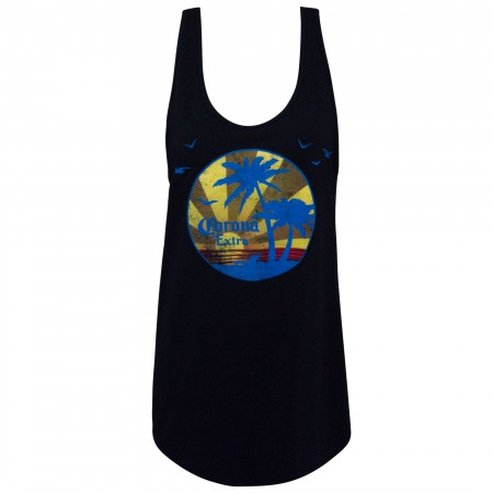 Corona Extra Black Sunset Women's Tank Top