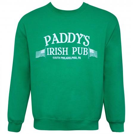 It's Always Sunny Paddy's Pub Green Men's Crewneck Sweatshirt