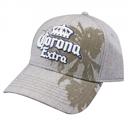 Corona Extra Tan Palm Trees Snapback Hat