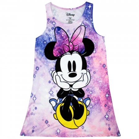Minnie Mouse Youth Girl's Space Pink Dress