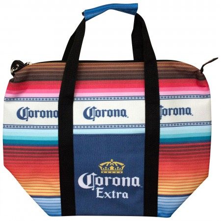 Corona Extra Multicolored Beach Blanket Cooler Bag