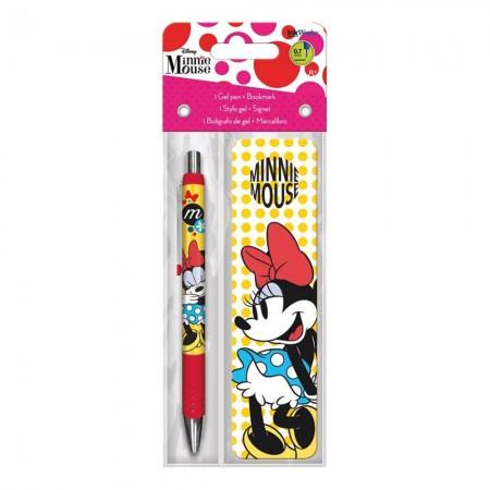 Minnie Mouse Pen Bookmark Set