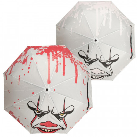 IT Pennywise Blood Splatter Color Changing Umbrella