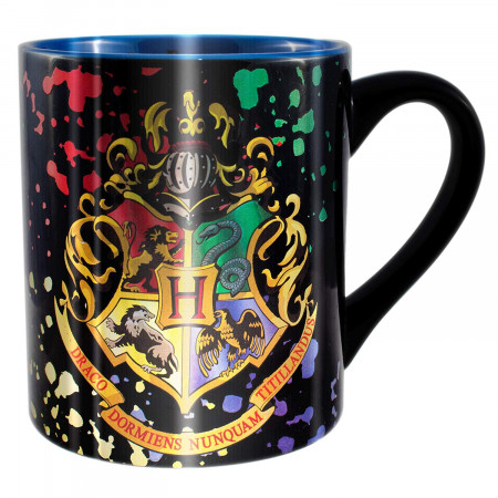 Harry Potter Hogwarts Foil 14 Ounce Mug