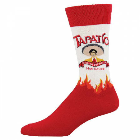 Tapatio Hot Sauce Red Socks