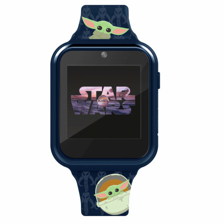 Accutime Star Wars The Mandalorian and The Child Heads Interactive Kids Watch