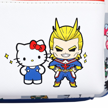 My Hero Academia X Hello Kitty and All Might Color Block Mini Backpack