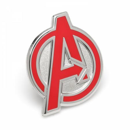 Avengers Red Logo Lapel Pin