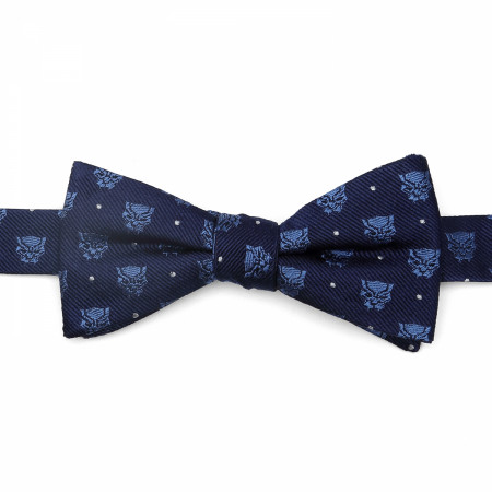 Black Panther Logos Blue Bow Tie