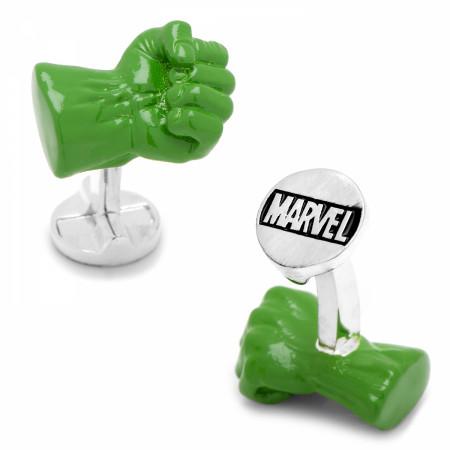 Hulk 3D Fist Cufflinks