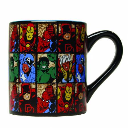 Avengers Vintage Panels 14 Ounce Mug