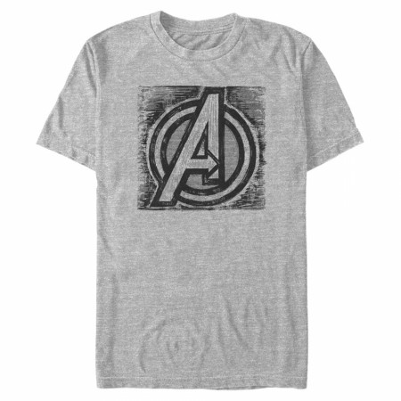Avengers Sketched Logo T-Shirt