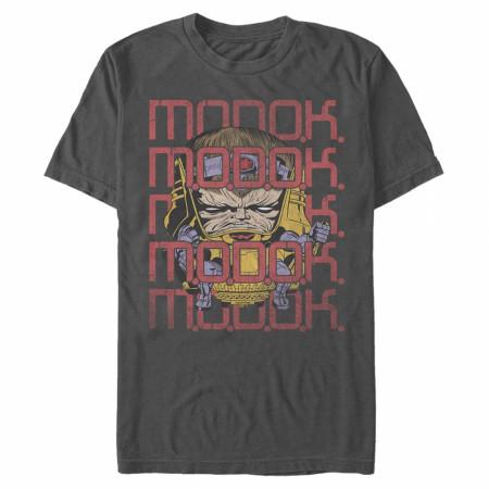MODOK Repeating Logo T-Shirt