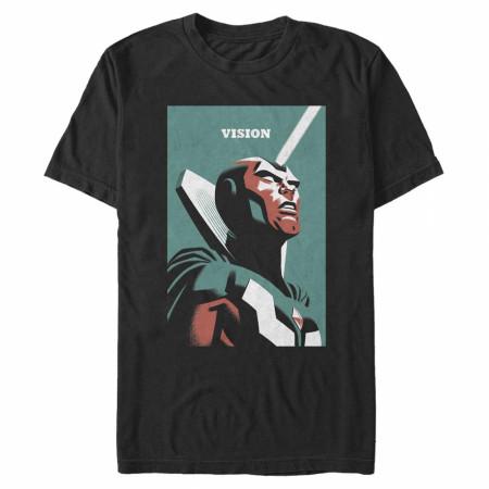 WandaVision Portrait of Vision T-Shirt