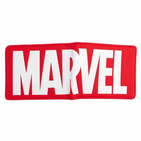 Marvel Red Logo Bi-fold Wallet