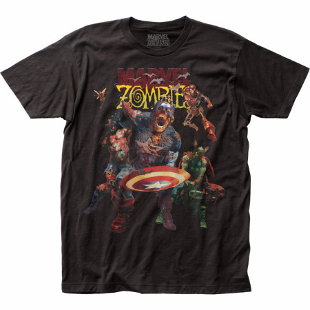 Marvel Zombies Comic Zombie Avengers T-Shirt