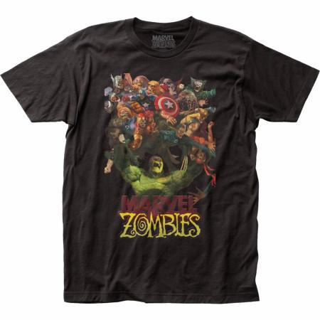 Marvel Zombies Comic Hulk Zombie Strength T-Shirt
