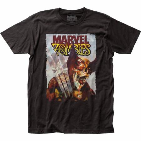 Marvel Zombies Comic Cover Wolverine vs. Hulk T-Shirt