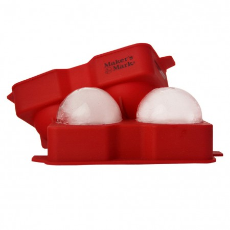 Maker's Mark Silicone Ice Ball Tray