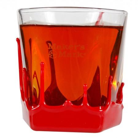 Maker's Mark Red Wax 9 oz. Rocks Glass