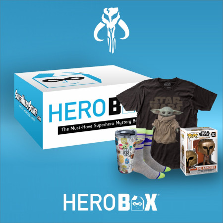 Star Wars The Mandalorian Hero Box