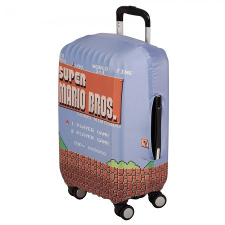 Super Mario Luggage Suitcase Cover