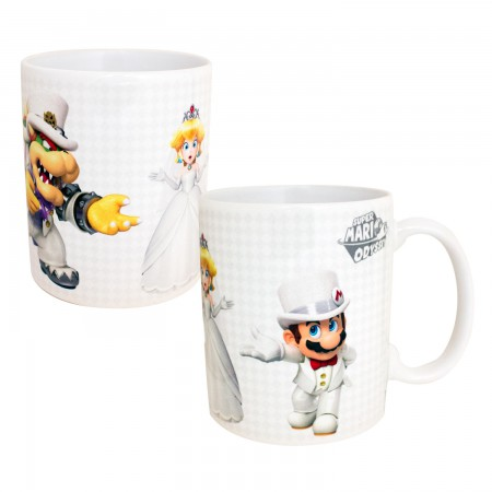 Super Mario Odyssey Who Will Peach Choose 11oz Tea Coffee Mug