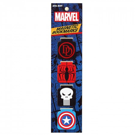 Marvel Comics Superhero Bookmarks