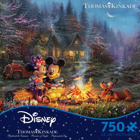 Disney Mickey & Minnie Sweetheart Campfire 750 Piece Puzzle