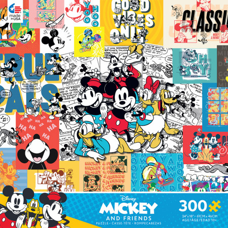 Disney Classic Mickey and Friends Character 300 Piece Puzzle