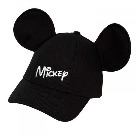 Mickey Mouse Black Boys Ears Hat