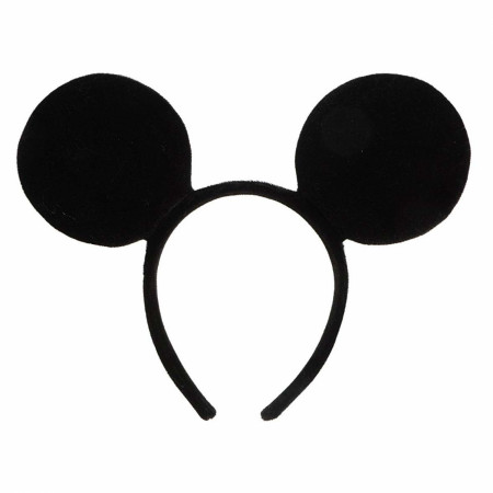 Mickey Mouse Black Costume Ears Headband